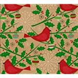 The Gift Wrap Company Holiday Wrapping Paper, 37.5 Square...
