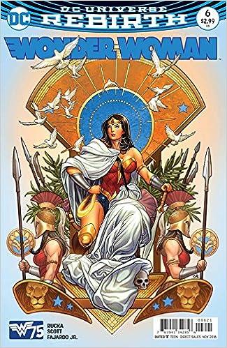 7f8a6f11 Wonder Woman Vol 5 #6 Cover B Variant Frank Cho Cover: Greg Rucka: Amazon.com:  Books