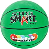 School Smart Gradeballs Rubber Basketball - Men's 29 1/2 inch - Green