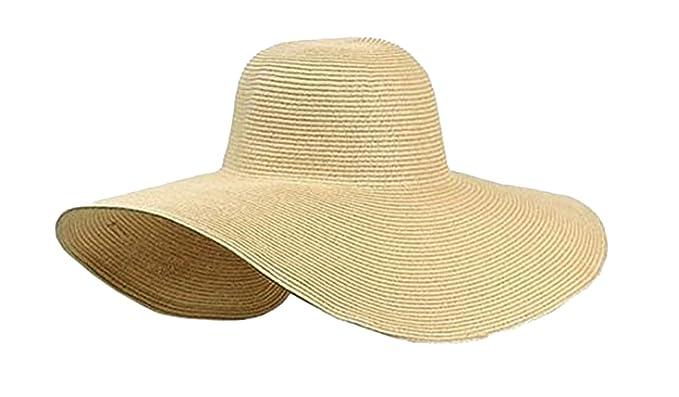 acheter populaire images détaillées recherche de liquidation Aolevia Chapeau de Paille Femme – Chapeau de Plage idéal pour Vacances