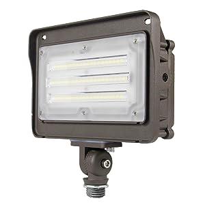 LED Flood Light with 180° Adjustable Knuckle