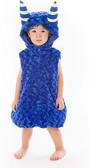 ODDBODS Pogo Halloween Costume for Kids   Blue, One Piece   One Size, Small, 19