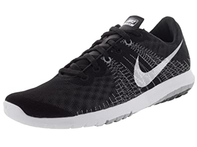 0262c1196296 Nike Women s Flex Fury Black White Wolf Grey Cl Grey Running Shoe 6