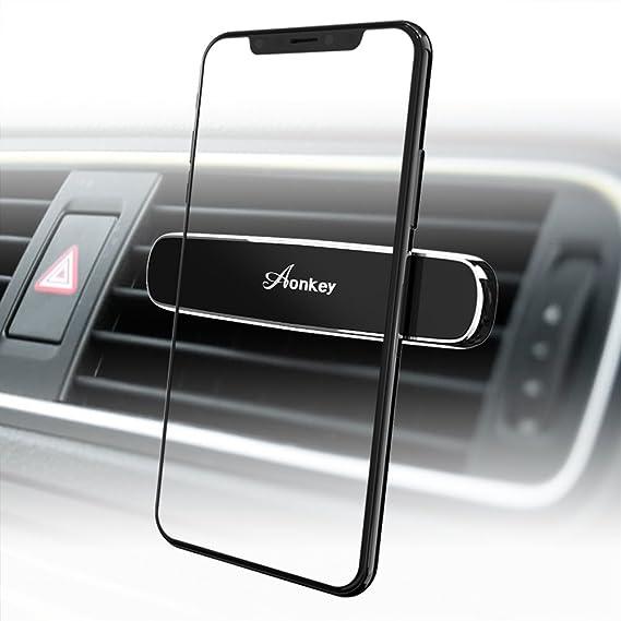 Aonkey Soporte magnético de coche para teléfono móvil, universal de ventilación de aire para iPhone
