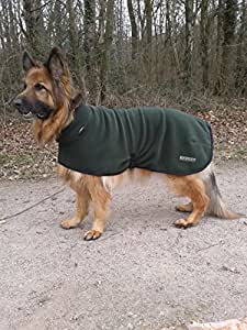 "Turtle-neck Dog Coat 31"" (Loden Green)"
