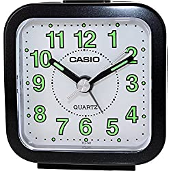 Casio #TQ141-1D Travel Table Top Beep Alarm Clock