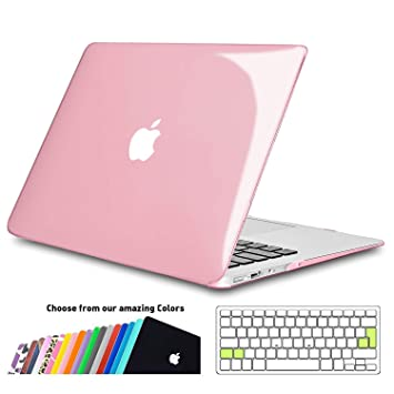 iNeseon Funda para MacBook Air 13 (Modelo A1466 A1369), Delgado Carcasa Case Duro y Cubierta del Teclado para Apple MacBook Air 13.3 Pulgadas (Versión ...