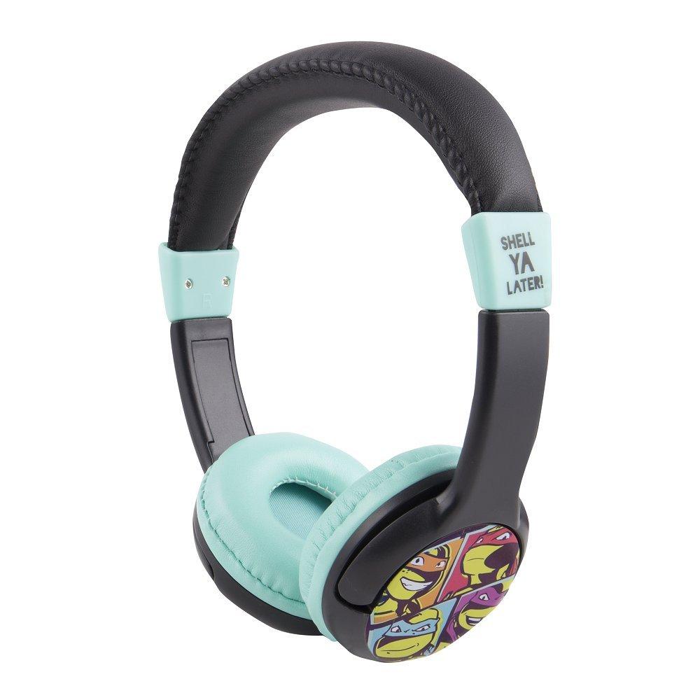 Teenage Mutant Ninja Turtles Headphones HP2-09065 by Sakar, Soft Cushioned Ear Pieces, Headband for Superior Comfort, Feature a 3.5mm Stereo Jack, ...