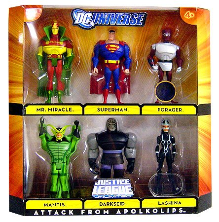 JUSTICE-LEAGUE-UNLIMITED-ATTACK-FROM-APOLKOLIPS-ACTION-FIGURE-6-PACK