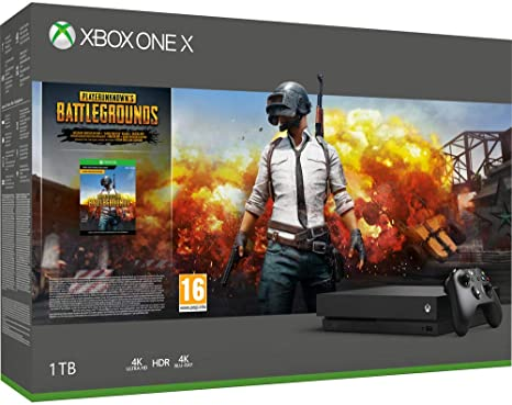 Xbox One X 1Tb + PlayerunknowS Battlegrounds [Bundle] [Importación italiana]: Amazon.es: Videojuegos