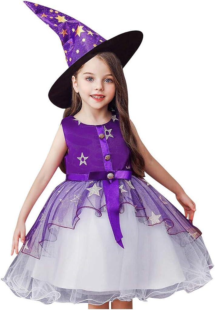Invierno Fiesta Ni/ño Ni/ños Ni/ñas Patr/ón Floral Estrella Princesa Fiesta de Tul Vestido de Tul Sombrero