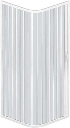 RL Mampara de Ducha 70x70 CM Cuadrado de PVC Mod. Acquario con Apertura Lateral: Amazon.es: Hogar