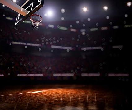Cancha de baloncesto 3D para estudio de fotografía de cancha de ...
