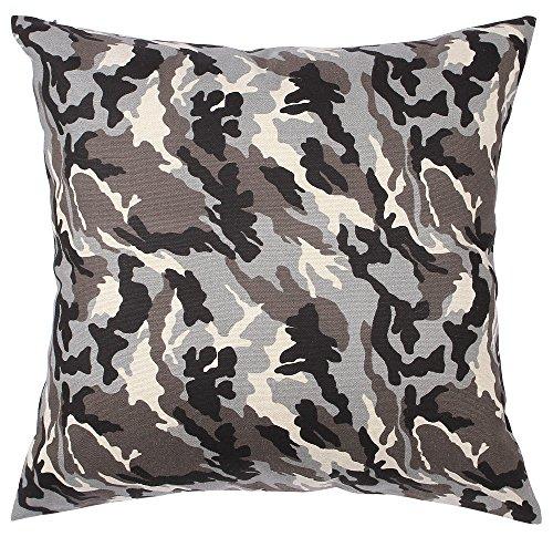 TangDepot174; Camouflage Throw Pillow Cover, Camo Pillow Cas