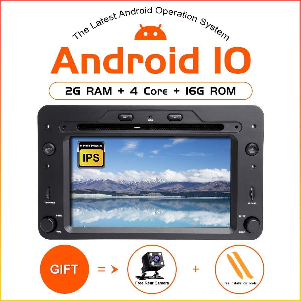 TOOPAI Android 10.0 AutoRadio 1 din GPS Navigation for Alfa Romeo 159 Brera Spider Sportwagon WiFi Stereo DVD Mulltimedia Audio
