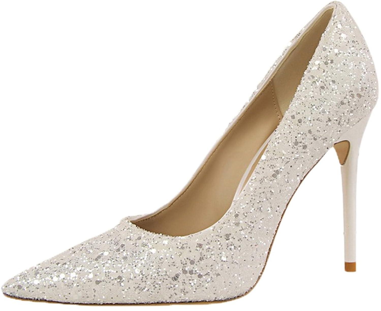 Odema Mujer Zapatos de tacon alto atractivo de los talones de los altos talones del dedo del pie del dedo del pie ArNSbm