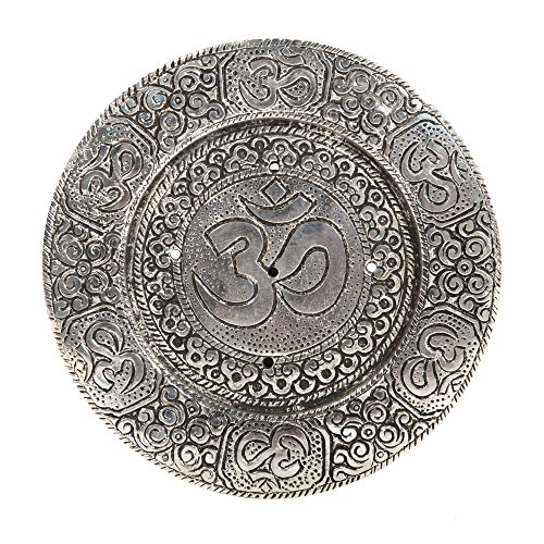 Hosley's Round Aluminum Incense Burner/Holder Sticks, 4.5