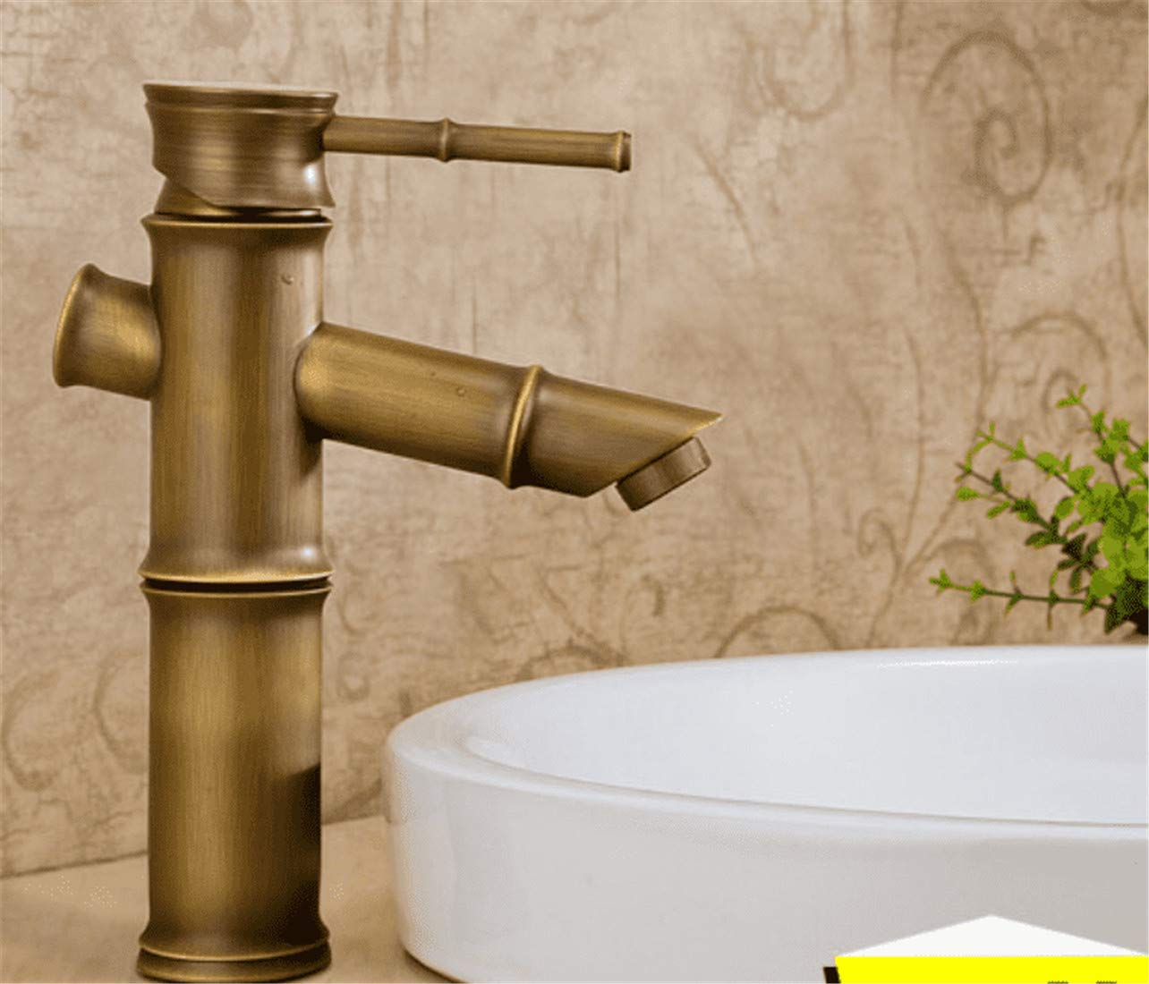 Mucert Tippen, Alle Kupfer, Europäischen Stil Archaize Tippen, Heißes Und Kaltes Wasser, Bad Retro Waschbecken Wasserhahn, A
