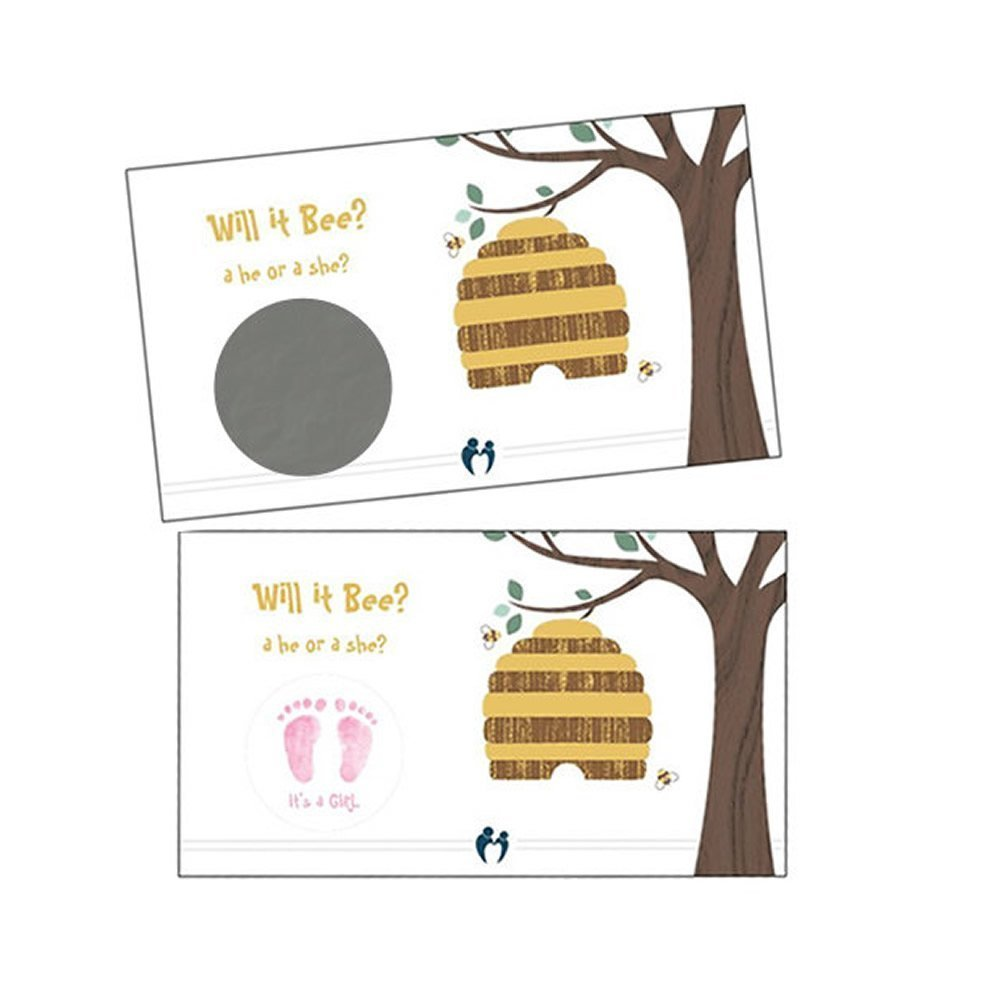 Gender Reveal Scratch Off Cards (Girl OR Boy) 24 qty