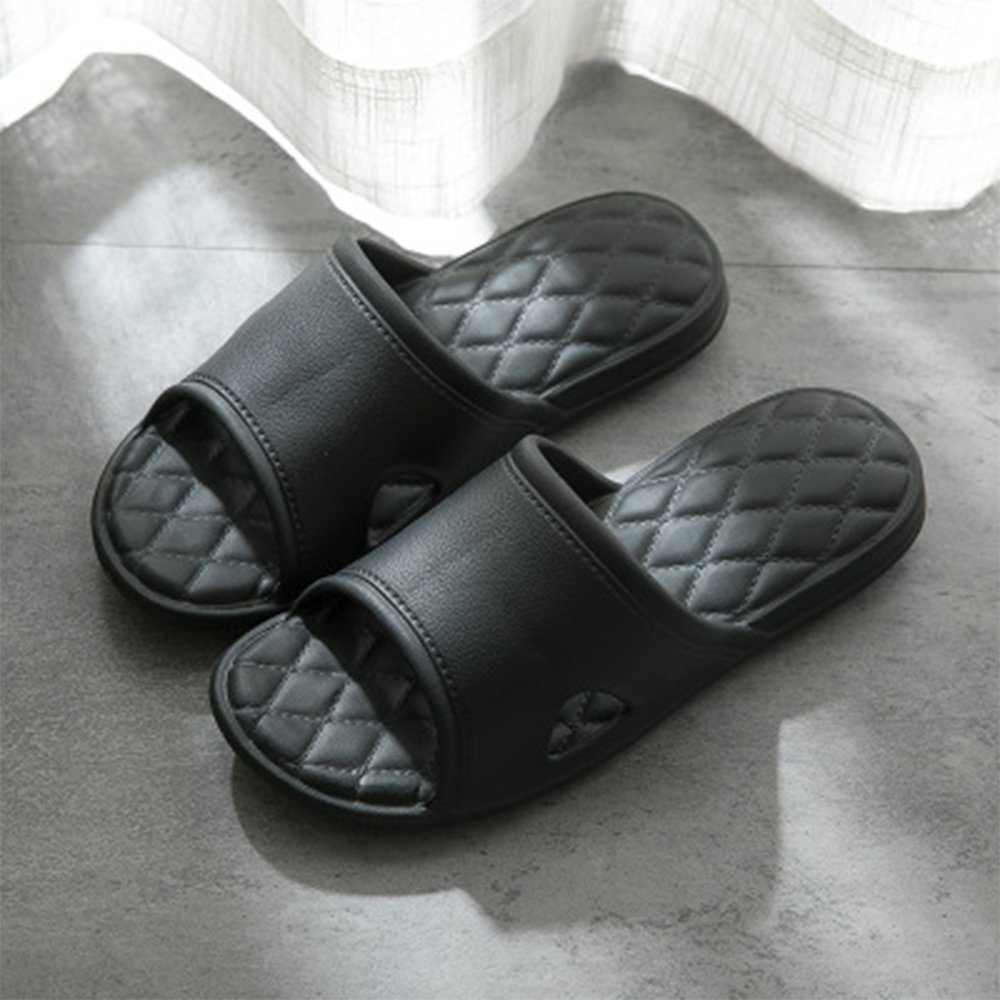 WILLIAM&KATE Women-Men Soft Slide Sandals Summer Bath Slippers Flat-Indoor Slipper by WILLIAM&KATE (Image #2)
