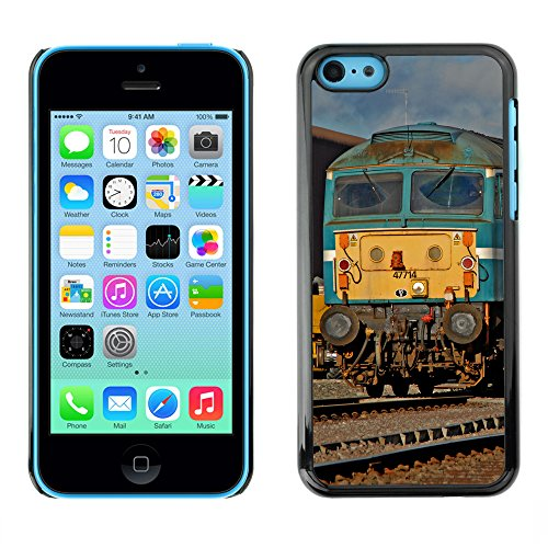 Premio Sottile Slim Cassa Custodia Case Cover Shell // F00018385 Vétéran des trains // Apple iPhone 5C