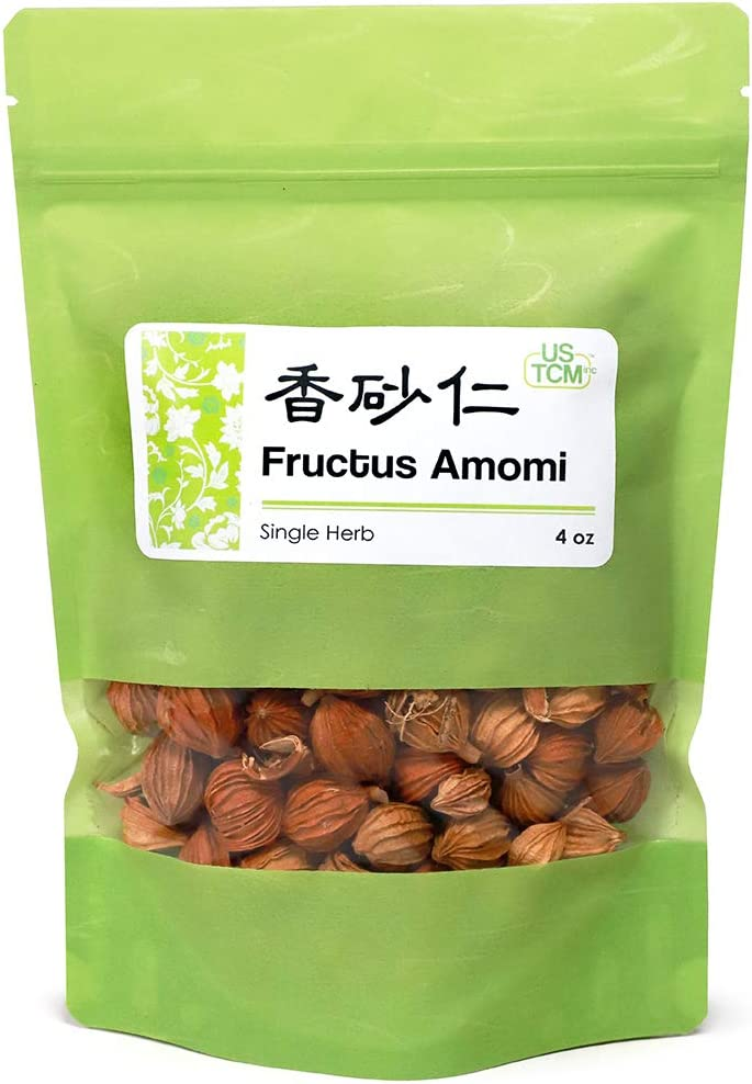 New Packaging Fructus Amomi Xiang Sha Ren 香砂仁 4 oz