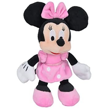 Posh Paws Disney Minnie Mouse - Figura de Peluche - Felpa Softwool Minnie 21cm