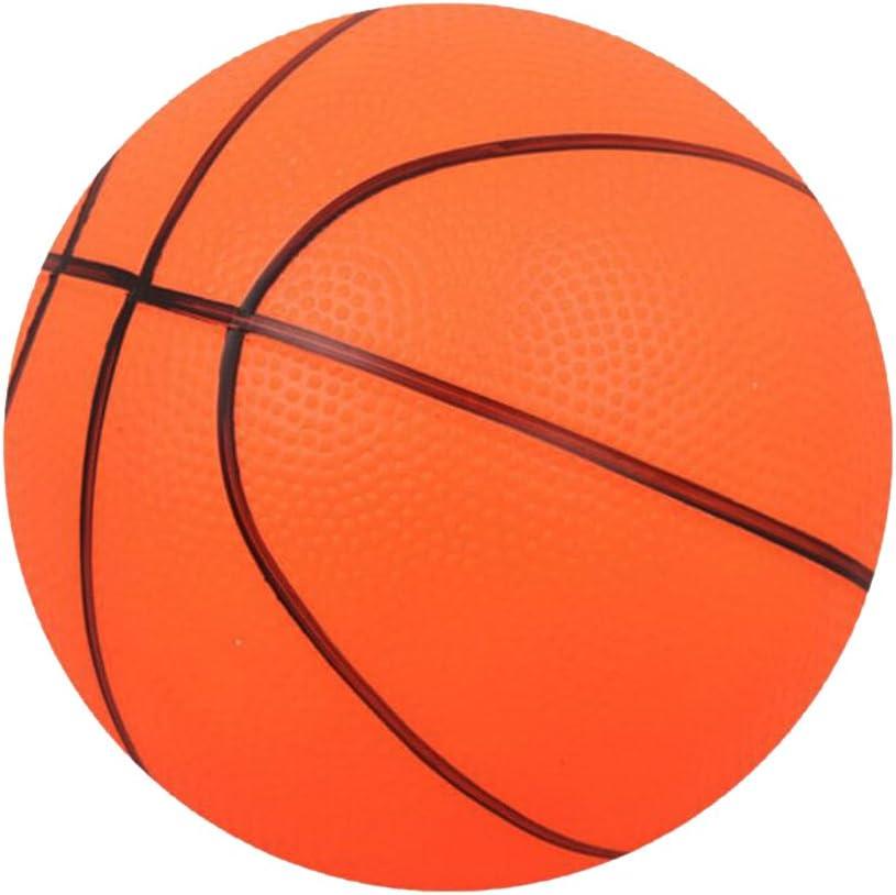 Baloncesto Mini Hinchable para Interior / Exterior Niños Deportes De Pelota De Juguete De Regalo-Naranja