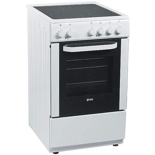 VOX COCINA CHT5001 VITRO BLANCA: Amazon.es: Grandes electrodomésticos