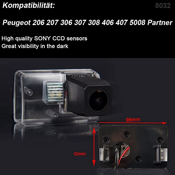 Super Hd Pro Rückfahrkamera Wasserdicht Nachtsicht Auto Elektronik