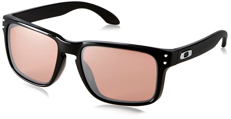 Oakley OO9102-55 Rechteckig Sonnenbrille, Polished Black/G3 Black Iridium (S2)