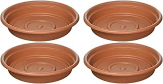 product image for Bloem SDC12-46 Dura Cotta Plant Saucer, 12-Inch, Terra Cotta (Pack of 4)