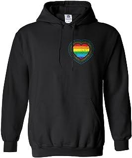 Pride Rainbow Bright Neon Men Tank Top Medium Charcoal Artix A