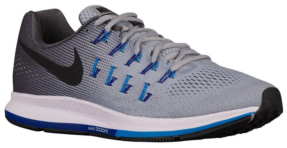 [ナイキ] Nike Air Zoom Pegasus 33 - メンズ ランニング [並行輸入品] B0723DB33R US13.0 Wolf Grey/Blue Glow/Concord/Black