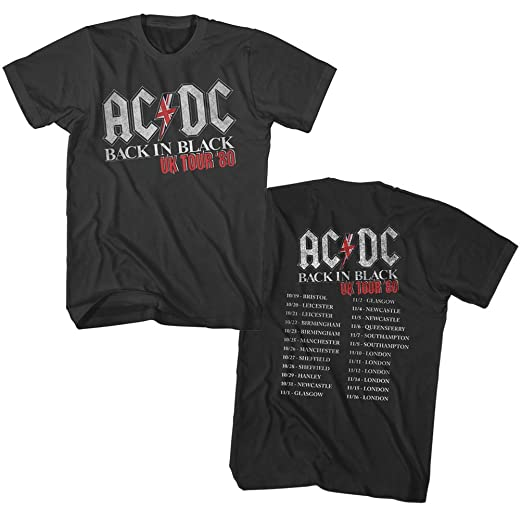 AC//DC For Those About To Rock Adult T Shirt Heavy Metal Music