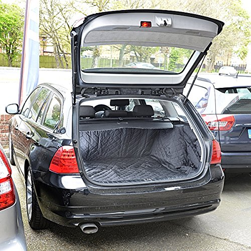 BMW 3 Series Touring Cargo Liner Trunk Mat - E91 - Quilted, Waterproof & Tailored - 2004 to 2013