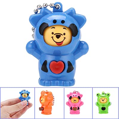 Elevin(TM)???????? Mini Animal Figurine Face Change Bear Different Cute Wxpressions Face Doll: Toys & Games