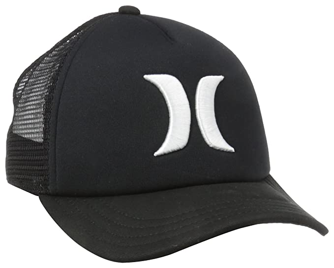 premium selection 74b06 2e0b0 Hurley Juniors One and Only YC Trucker Hat, Black, One Size