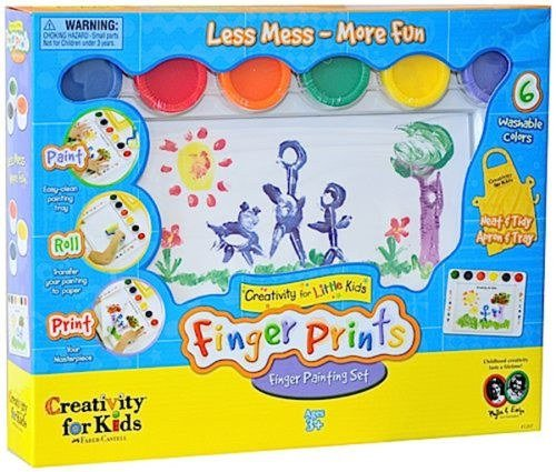 Creativity for Kids My First Finger Painting Set