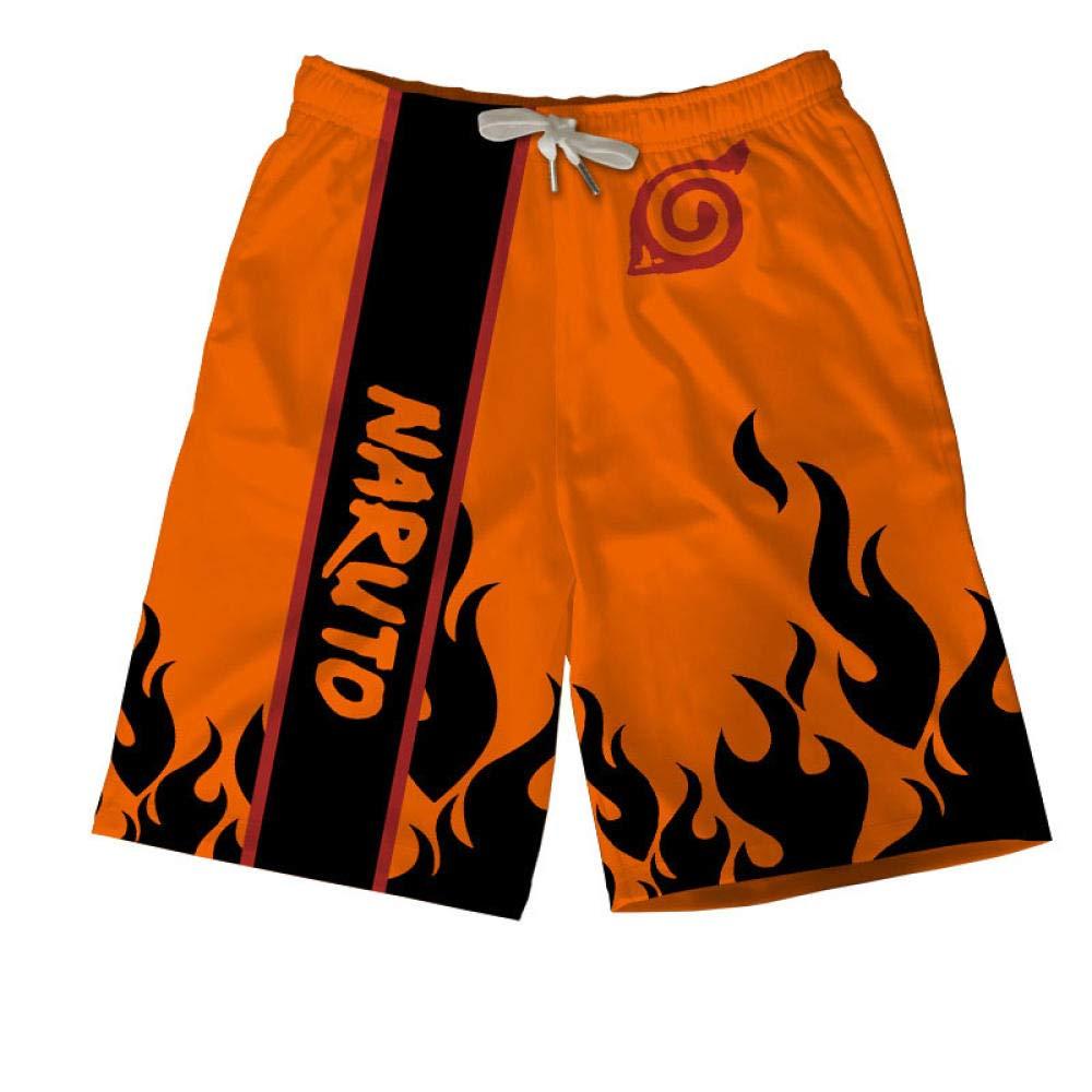 TSHIMEN Pantalones Cortos Hombre sin Marca Naruto Traje de ...