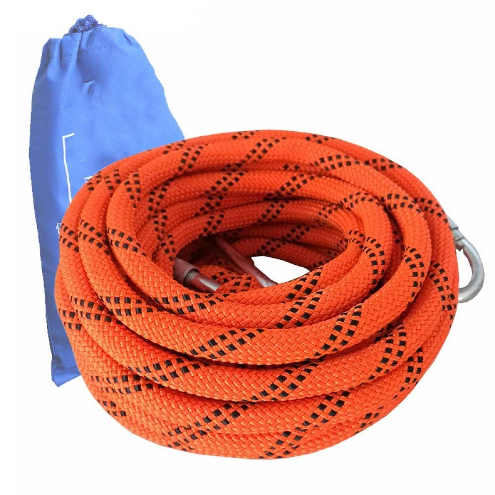 FQCD 屋外用クライミングロープ静的ロッククライミング機器10.5ミリメートル高強度アクセサリー消防安全急行ロープ  15m*10.5mm