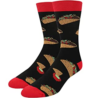 Burgers /& Fries 6-Pack Fun Dress Socks Beer Mens Pizza
