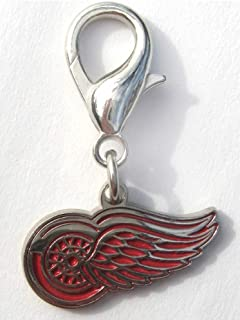 product image for Diva-Dog NHL Hockey 'Detroit Red Wings' Licensed Team Dog Collar Charm