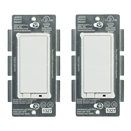 jasco 45609 z wave wireless lighting control onoff switch 2 pack amazoncom buy ge ge 45613