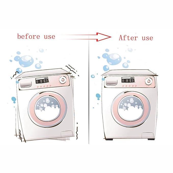 4pcs Felt Anti Vibration Pads Refrigerator Washer Dryer Machines Reduce Noise