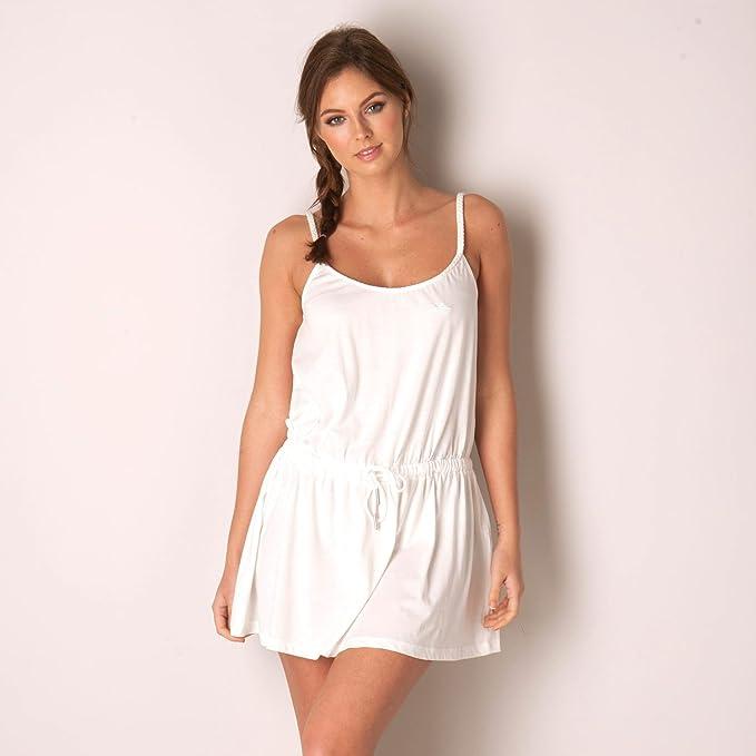 adidas Originals vestido trenzado EF para mujer (blanco) 12
