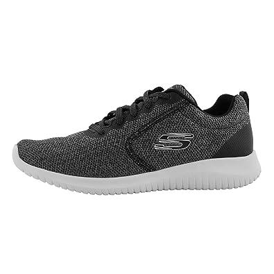 Skechers Damen Ultra Flex Sneaker Schwarz (BlackWhite BKW) EU