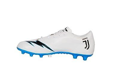 Sisdeal Men s White Blue CR7 Juventus Ronaldo Studs Football Sport Shoes  Size-(1- 5cea5704cf32