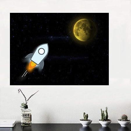 RTCKF Space Art Print Poster habitación para niños Imagen de ...
