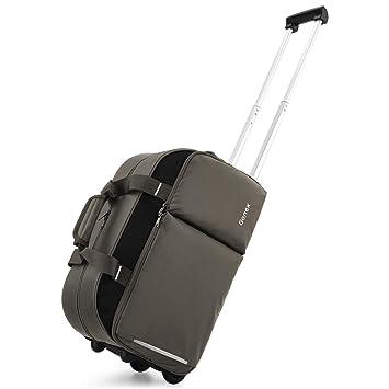 Amazon.com: Gonex Bolsa de viaje con ruedas, 40 L, repelente ...